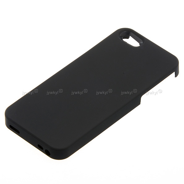 coque de protection iphone 5 5s pour chargeur tablette induction qi noir. Black Bedroom Furniture Sets. Home Design Ideas