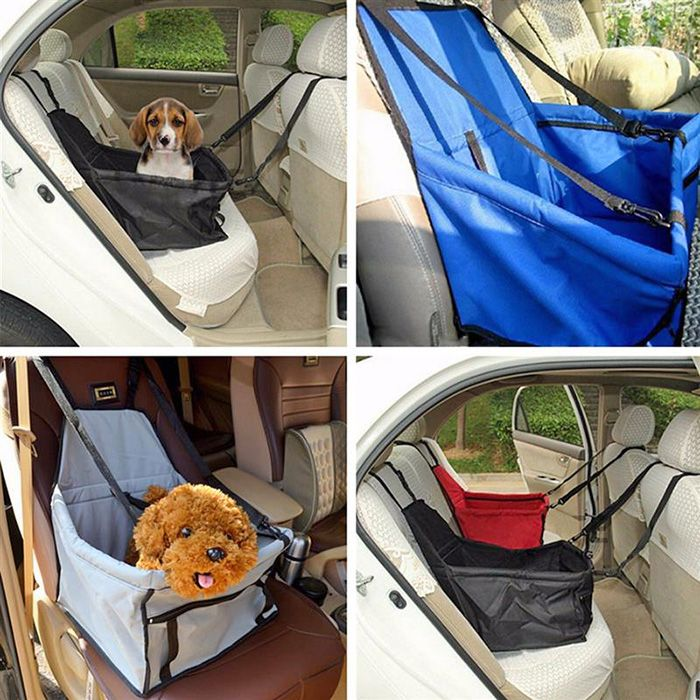 toile panier imperm able protection si ge arri re auto voiture pour chien bleu. Black Bedroom Furniture Sets. Home Design Ideas