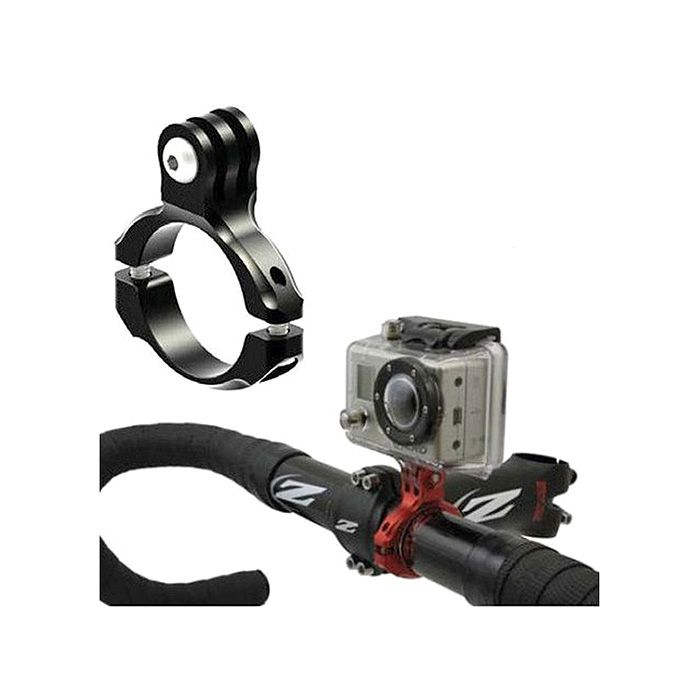 Fixation Support Vélo Aluminium Barre Guidon pour Caméra Action GoPro Hero  BK 3441f0f0a028